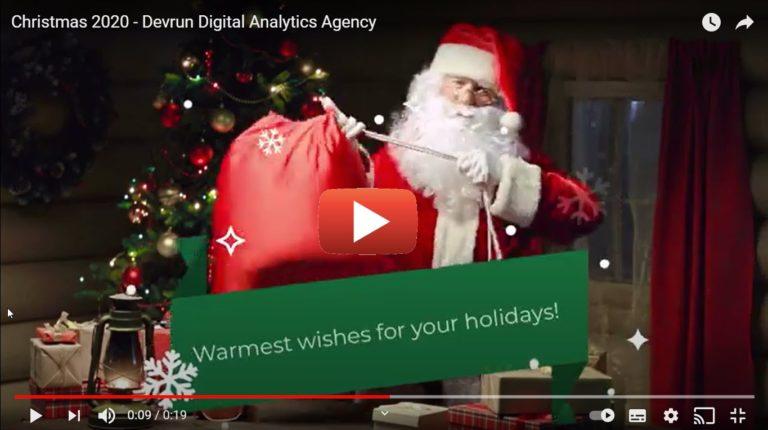 Christmas 2020 - Devrun Digital Analytics Agency
